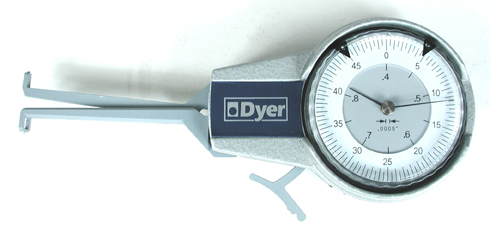 Dyer 104 Series Classic Direct Reading Id Groove Gages